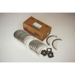 Вкладыши коренные (14 шт + полукольца 4 шт, пластины 14 шт) двигателя Cummins NT855-280/360 (HUATAI)