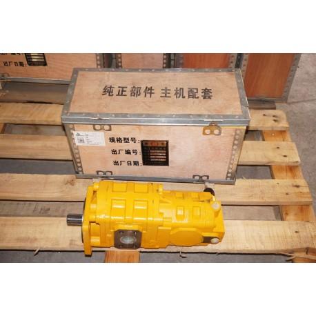 Насос гидравлический CBGJ2080/1010-XF R, JHP2080/1010-XF (14 шлицов, сдвоенный) XCMG ZL50 (А)