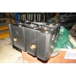 Головка блока цилиндров не в сборе (ГБЦ) двигателя Weichai WD615/WD10