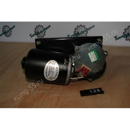 Моторчик стеклоочистителя (4 контакта, 2 вала) XCMG ZL50G