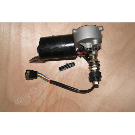 Моторчик стеклоочистителя (4 контакта, 1 вал) XCMG LW300/LW500