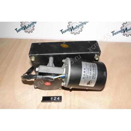 Моторчик стеклоочистителя (5 контактов, 2 вала) SDLG