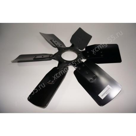 Вентилятор системы охлаждения (D-600 мм, d-90 мм, 6 лоп, 6 отв) двигателя Deutz TD226B-6G/WP6G125E22/WP6G125E22 (ОРИГИНАЛ)