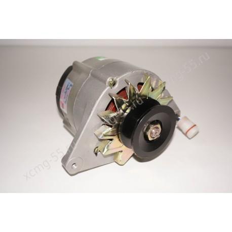 Генератор (28V, 55A, клинововй ремень) JFZ2905 двигателя Yuchai YC6108/YC6B125 (ОРИГИНАЛ)
