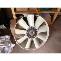 Вентилятор с гидромуфтой в сборе (D-758 мм) двигателя Sinotruk D12 HOWO A7