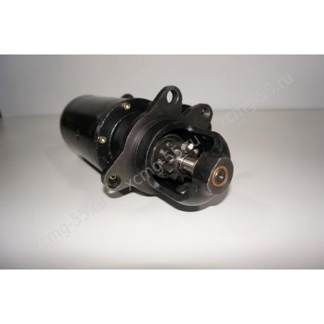 Стартер (бендикс закрытый 11 зуб) двигателя Shanghai SC9D/D9-220/D6114