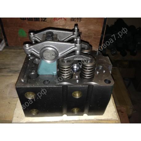 Головка блока цилиндров в сборе (ГБЦ) двигателя Sinotruk D12 HOWO A7