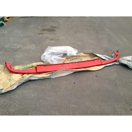 Бампер нижний красный (метал) HOWO A7