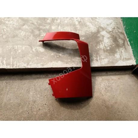 Обтекатель фар левый красный HOWO A7