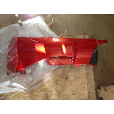 Обтекатель кабины правый красный HOWO A7 (самосвал)