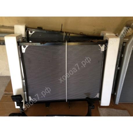 Радиатор двигателя Sinotruk D12 HOWO A7