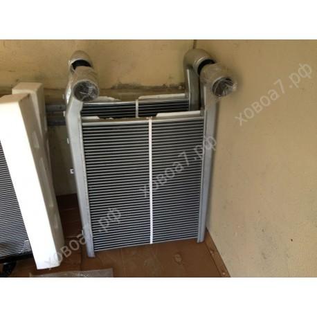 Радиатор интеркуллер для двигателя Sinotruk D12 HOWO A7