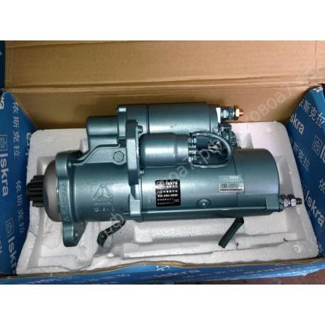 Стартер двигателя Sinotruk D12 HOWO A7 (А)