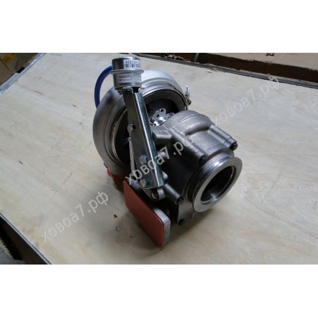 Турбокомпрессор (турбина) HX55W двигателя Sinotruk WD615.96E Евро 3 375 л.с.