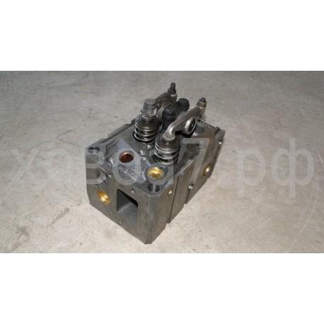 Головка блока цилиндров в сборе (ГБЦ) двигателя Sinotruk WD615.96E Евро-2 (А)