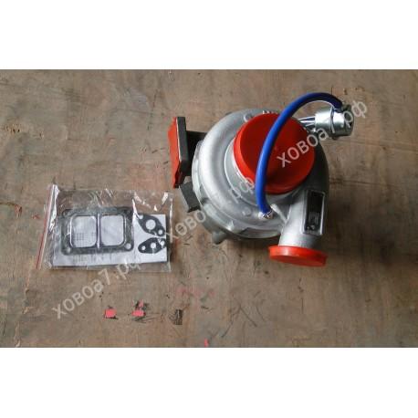 Турбокомпрессор (турбина) HX55W двигателя Sinotruk D12 HOWO A7