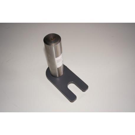 Палец гидроцилиндра поворота полурамы передней тележки (40*140) для погрузчика XCMG LW500