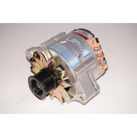 Генератор JFZ2503 (28V, 55A) двигателя Shanghai D9-220/D6114