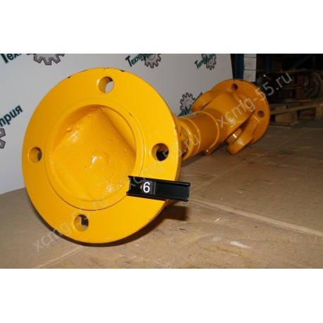 Вал карданный задний (L-450 мм, фланец круглый 4 отв.) XCMG LW300F