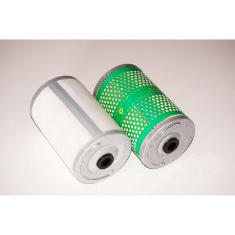 Фильтр (элемент, 2 шт) топливный грубой очистки (39A/40A) Weichai WD615