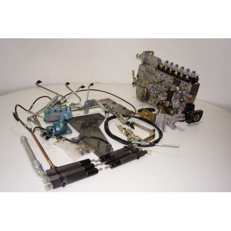 Комплект по переоборудованию (переделка) с Евро-4 на Евро-2 двигателя D10.380 HOWO A7