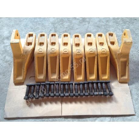 Зубья ковша комплект XCMG ZL50G/LW500,SDLG