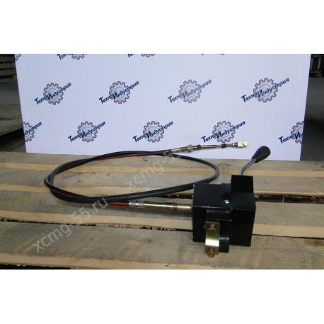 Трос управления КПП с переключателем XCMG ZL30G/ZL50G/LW300F/LW500F