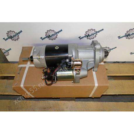 Стартер (бендикс закрытый 12 зуб) двигателя Shanghai C6121/SC11