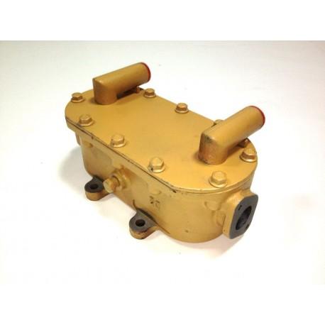 Маслоохладитель двигателя Yuchai XCMG (ОРИГИНАЛ)