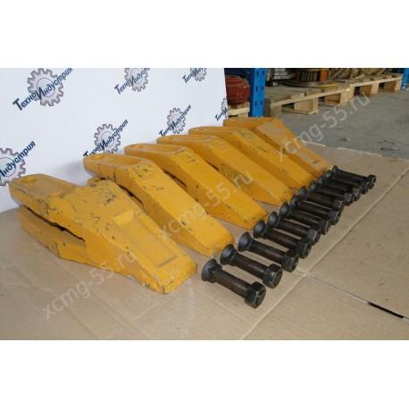Зубья ковша комплект XCMG ZL30G/LW300